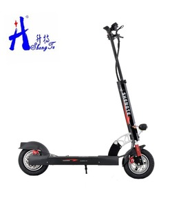 10inch 48V Two Roller Wheel Electric Scooter with Retractable Dolly Handle