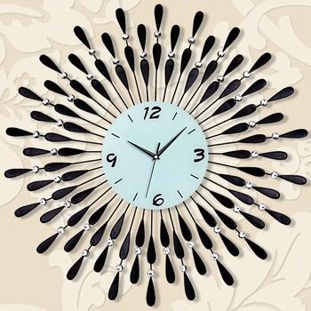 Stylish Wall Clock Design Acrylic Matel Bird Sounds