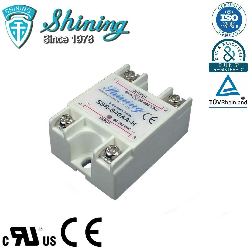 SSR-S40AA-H Điện Áp Cao Single Phase 40A AC AC Solid State Relay