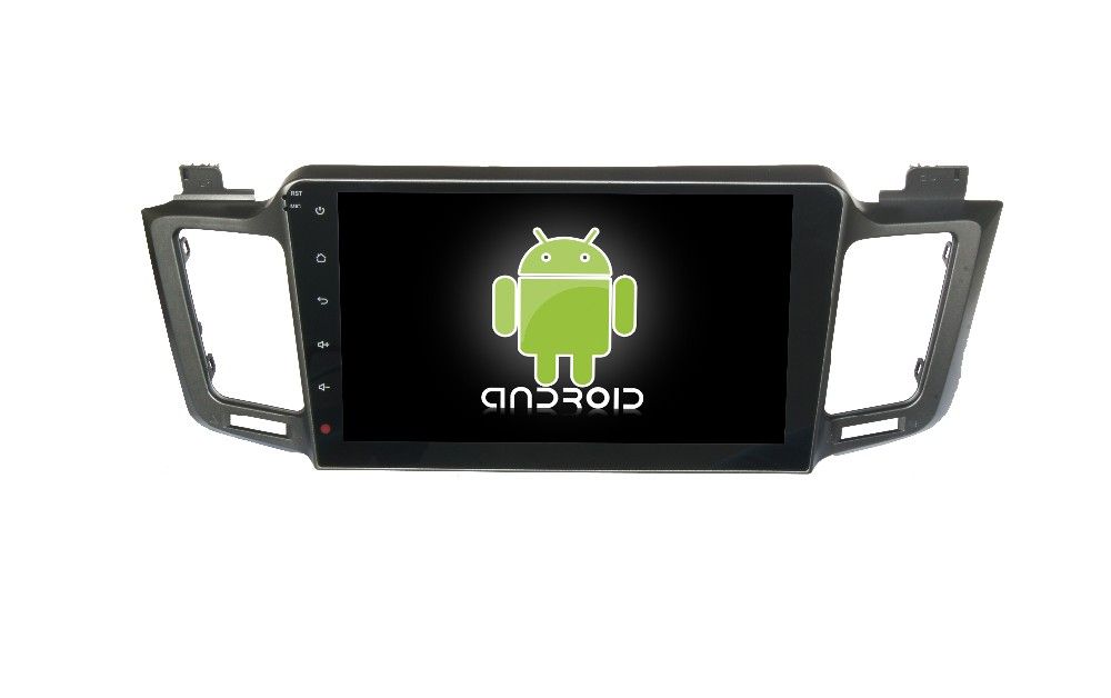 Wholesale HD 1024*600 Capacitive Screen 3G Wifi mirror link for Toyota New RAV4 pure android 4.4 car dvd player GPS