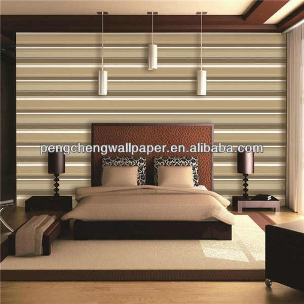 Fancy pvc wall paper from linyi pengcheng decoration material co.,ltd