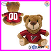 F164 NFL Bear Cat Plush Toy Pet Teddy Bear Plush Teddy Bear Electric Cat Toys
