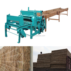 High efficiency reed mattess knitting machine/straw curtain sewing machine