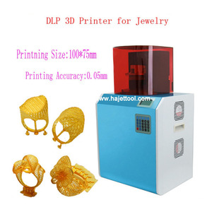 jewelry mold making machine resin 3d wax printer for dental and jewelry DLP  3D printer
