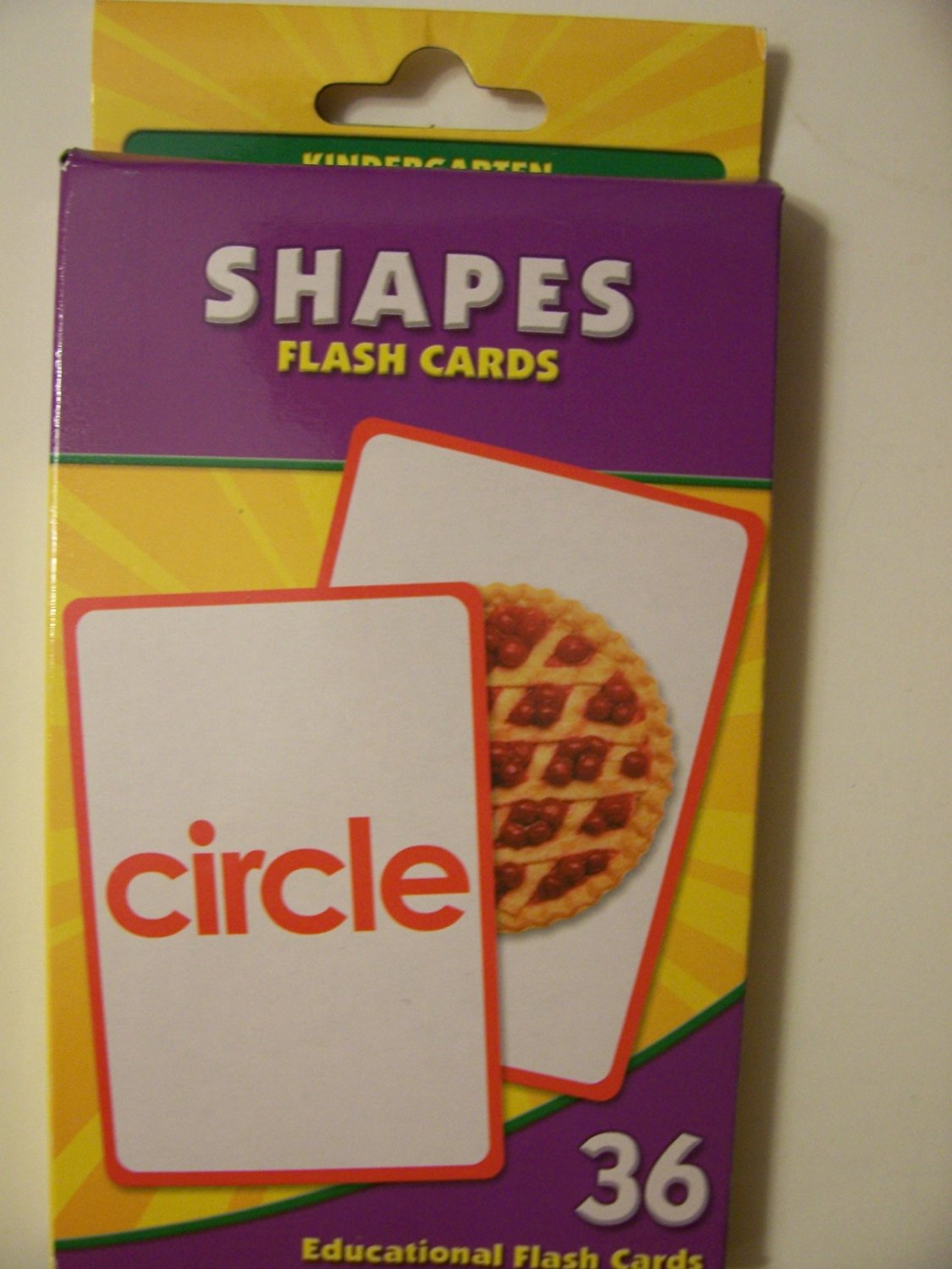 Educational Flash Cards ~ Shapes (36 Flash Cards; Kindergarten)