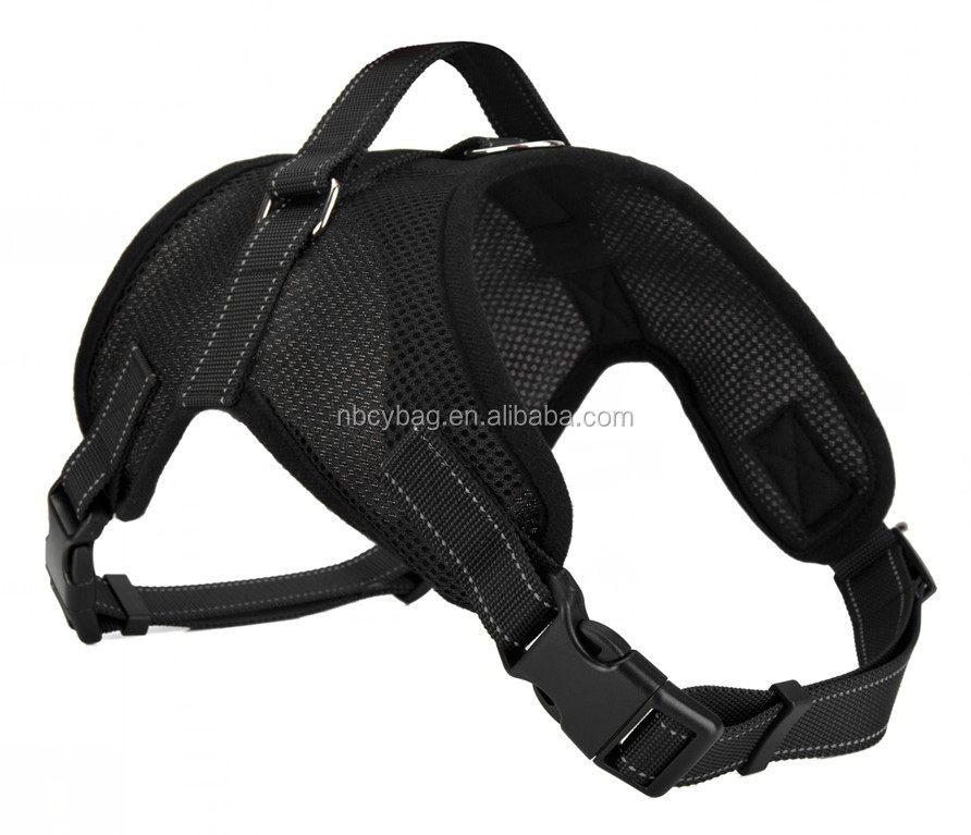 Ningbo Real factory Wholesale Pet Chest Strap Car Seat Safety Dog Harness