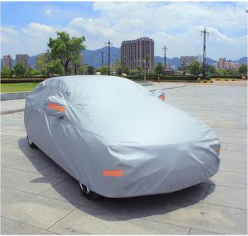 Polyester Dustproof Folding Garage Car Cover
