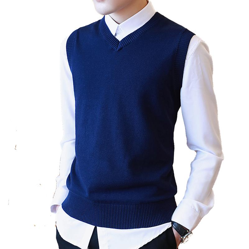 Compra para hombre chaleco de lana online al por mayor de