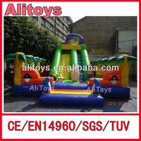hot new forest theme giant inflatable water slides for sale