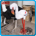 Life Size Animal Statue Animatronic Phoenicopterus For Sale