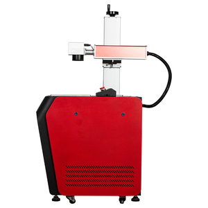 Desktop 20w fiber phone laser marking machine for metal 30w laser date code printing printer for sale