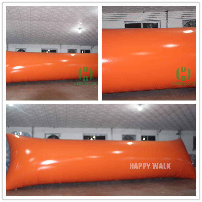 Professional made floating jumping air bag lake inflatable water blob, catapult blob on water aqua park with CE certification