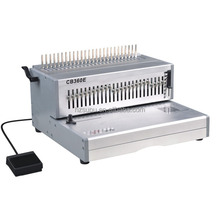 High Quality Book Comb Binding Equipment