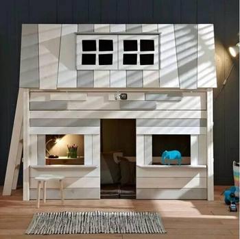 Sicherheit Kreative Holz Bett Für Kinder Doppelstockbett Aus Kiefernholz  Oder SPF Oder MDF