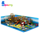 Guangzhou supplier slide with wolcano kids indoor playground equipment