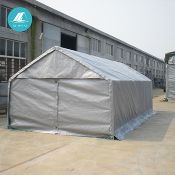 reputable site 43b67 c9e95 Jqa1220 Steel Frame Outdoor Temporary Storage Canopy Tent - Buy Inflatable  Car Garage Tent,Outdoor Pvc Canopies,Metal Car Canopy Product on ...