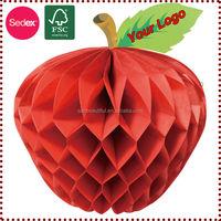 customized logo tissue paper artificial fruit decoration