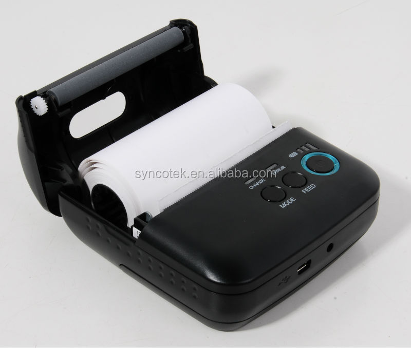 Portable Mobile Handheld Bluetooth Bus Casino Ticket Lottery Receipt Printer for Transports iPhone Android/iOS