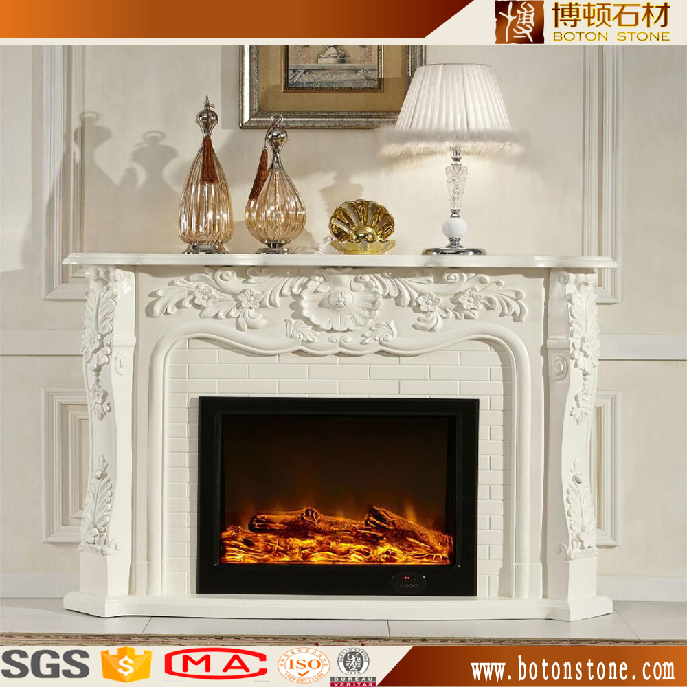 french style decorative electric fireplace mantel french style