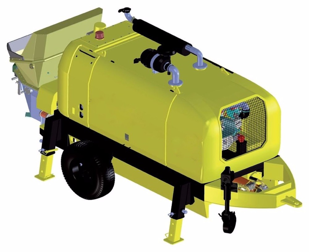 New type diesel concrete pump depot concrete pressure pump for sale