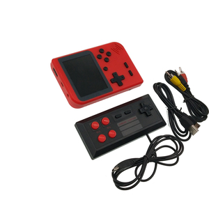 a2299577dfb 2.8inch built-in battery Mini handheld retro Built-in 400 games portable  video