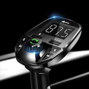 2018 bluetooth fm transmitter for car FM Transmitter Handsfree call USB Mobile Charger