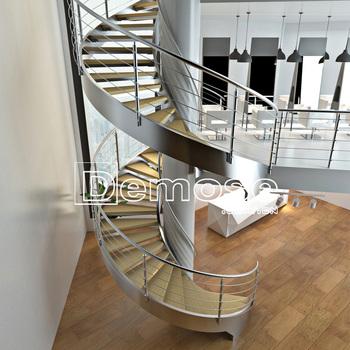 Escalier En Bois Moderne Dimensions Escalier En Colimaçon Extérieur ...