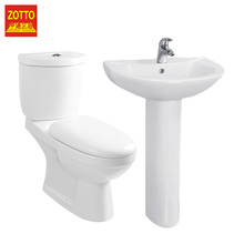 Hot selling groothandel toilet en wastafel voetstuk <span class=keywords><strong>porselein</strong></span> sets Chaozhou keramische <span class=keywords><strong>badkamer</strong></span> <span class=keywords><strong>set</strong></span> accessoires