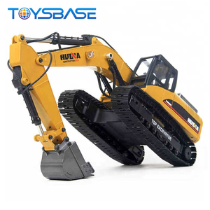 Huina 1580 2.4G 23CH Full Metal Truck Model Toy 1 14 RC Excavator