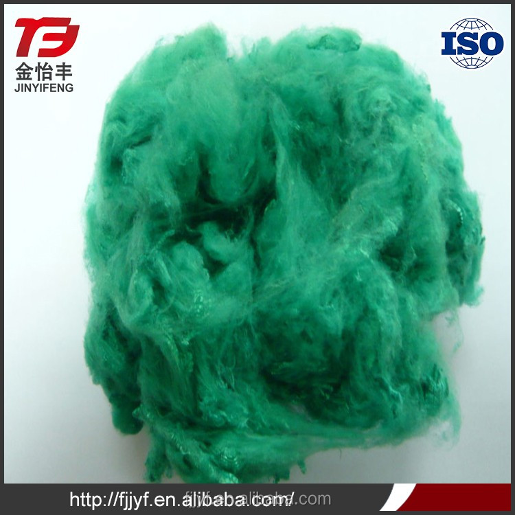 Fire retardant mattress filling use recycled green dyed raw material 100 polyester microfiber fabric with high quality