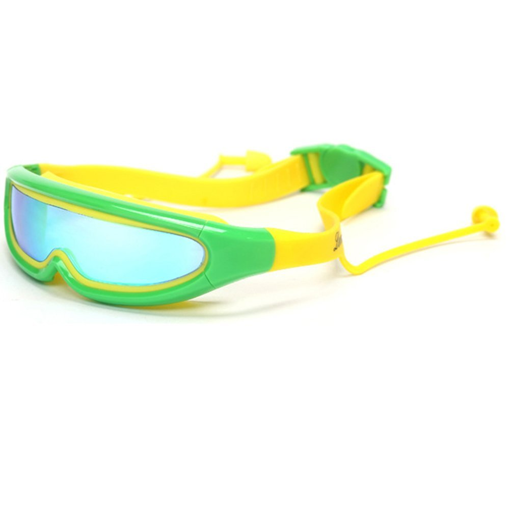 ca65ffd1c5b5 Get Quotations · KMMall Kids Swim Goggles Anti Frog Waterproof Swimming  Goggles with Ear Plugs and Nose Clip UV