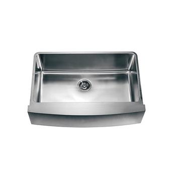 Sus304 Stainless Steel Sinks Modern Single Bowl Apron
