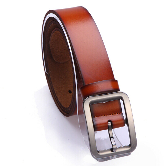 Get Quotations · Mens Leather Belt Brand Business Fashion Summer Style Strap  Male Belt 2015 New Casual Buckle Design 1ce98a1ebd7