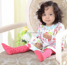 Hot style baby girls silk stockings with dots printed wholesale supply OEM