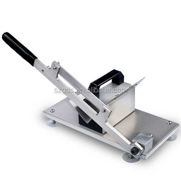 Murah Pengolahan Daging Mesin Manual Tangan Meat Slicer Portabel Meat Slicer