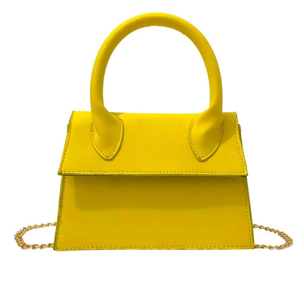 Sunshinehomely Women Leather Pure Color Hand Bag Crossbody Bag Phone Bag Shoulder Bag for Women Girls