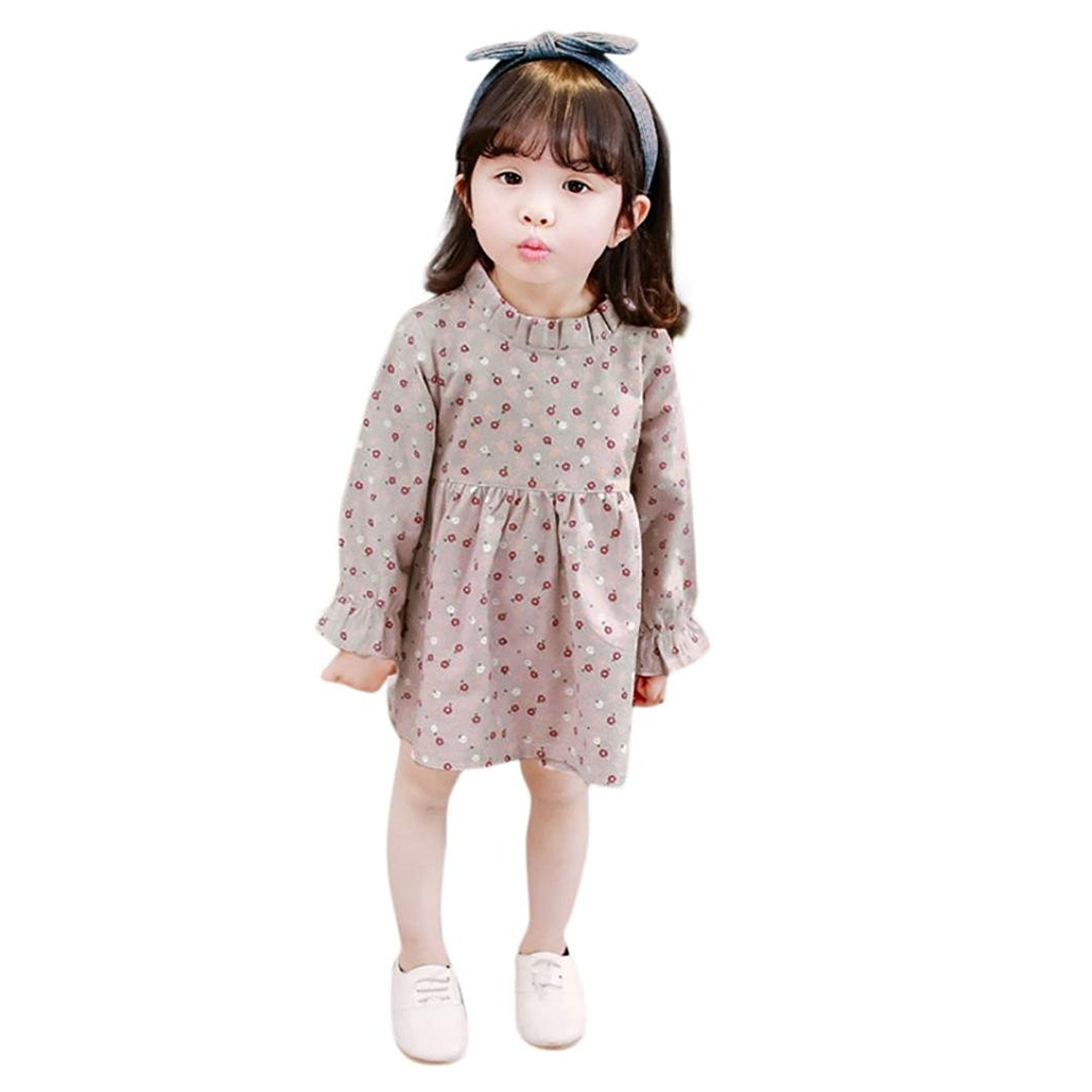 Baby Girls Sleeveless Ethnic Style Floral Printed Tassel Romper Jumpsuit Less Expensive Girls' Clothing (newborn-5t) Clothing, Shoes & Accessories