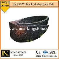 KSS077 Black Marble Bath Tub Prices