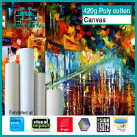 420gsm Polycotton Canvas for digital printing