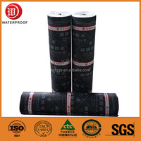 Hot-sales Roofing SBS Asphalt Self Adhesive Waterproof Sheet Raw Material
