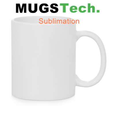 11oz white coated sublimation white ceramic mug