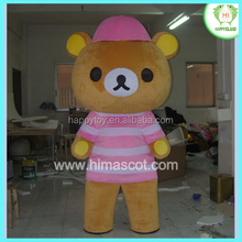 HI CE Cute Rilakkuma Fancy Dress Bear Mascot Costume For Sale