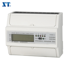 XTM1250SI-U Type Three phase small digital kwh modbus watt meter with rs485 Energy Meter ( ENERGY METER EXPERT )