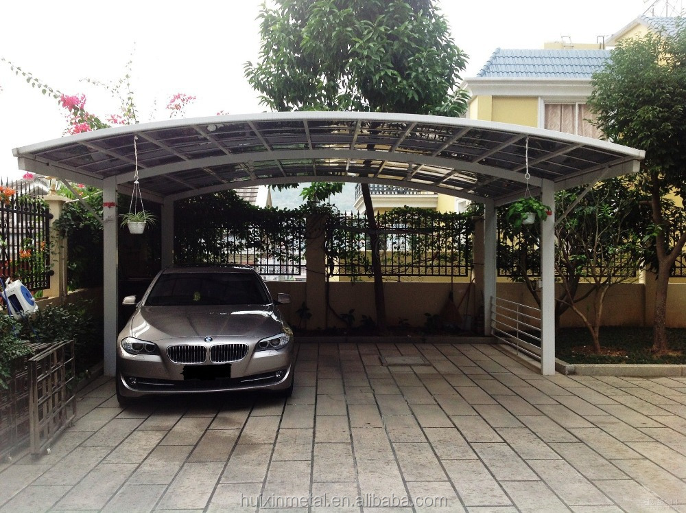 New Style Prefabricated Aluminium Awning For Cars Hx114