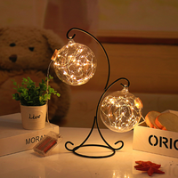 Hot sell new creative glass bottle led string Nightlight for Bedroom Decoration Party