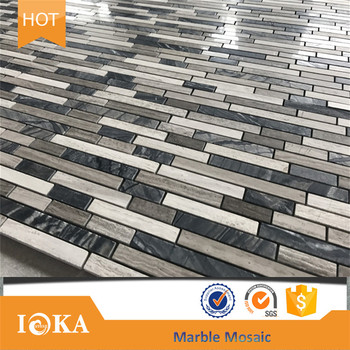 New 7mm Thickness Mosaic Tile For Kitchen Wall Backsplash Buy New Mosaic Tile For Kitchen Backsplash Marble Mosaic For Kitchen Bathroom Tile Top Quality Hotsell Marble Subway Tiles Mosaic Product On Alibaba Com