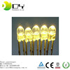 CE ROHS certified oval shape led diode 12v