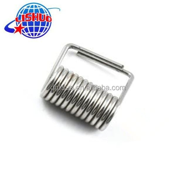 Low price carbon steel small torsion spring