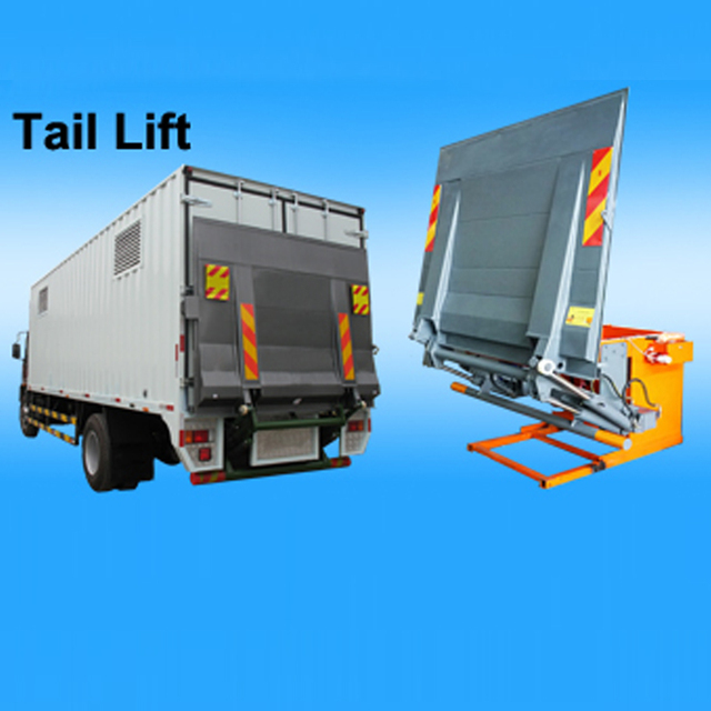High Quality HYDRAULIC TRUCK TAIL LIFT for Sale Export to Singapore