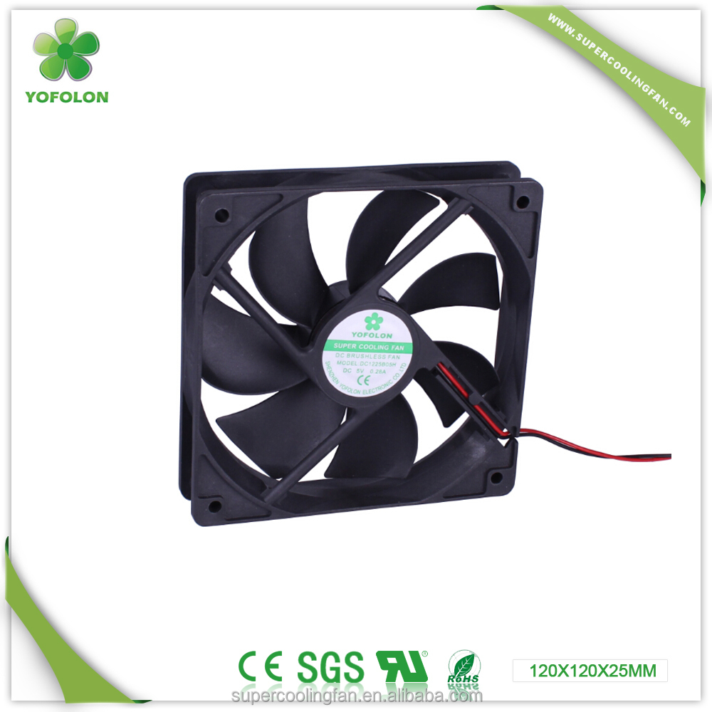 120x120x25mm 5V 12V LED lamp cooling fan 12CM Cpu laptop cooling fan